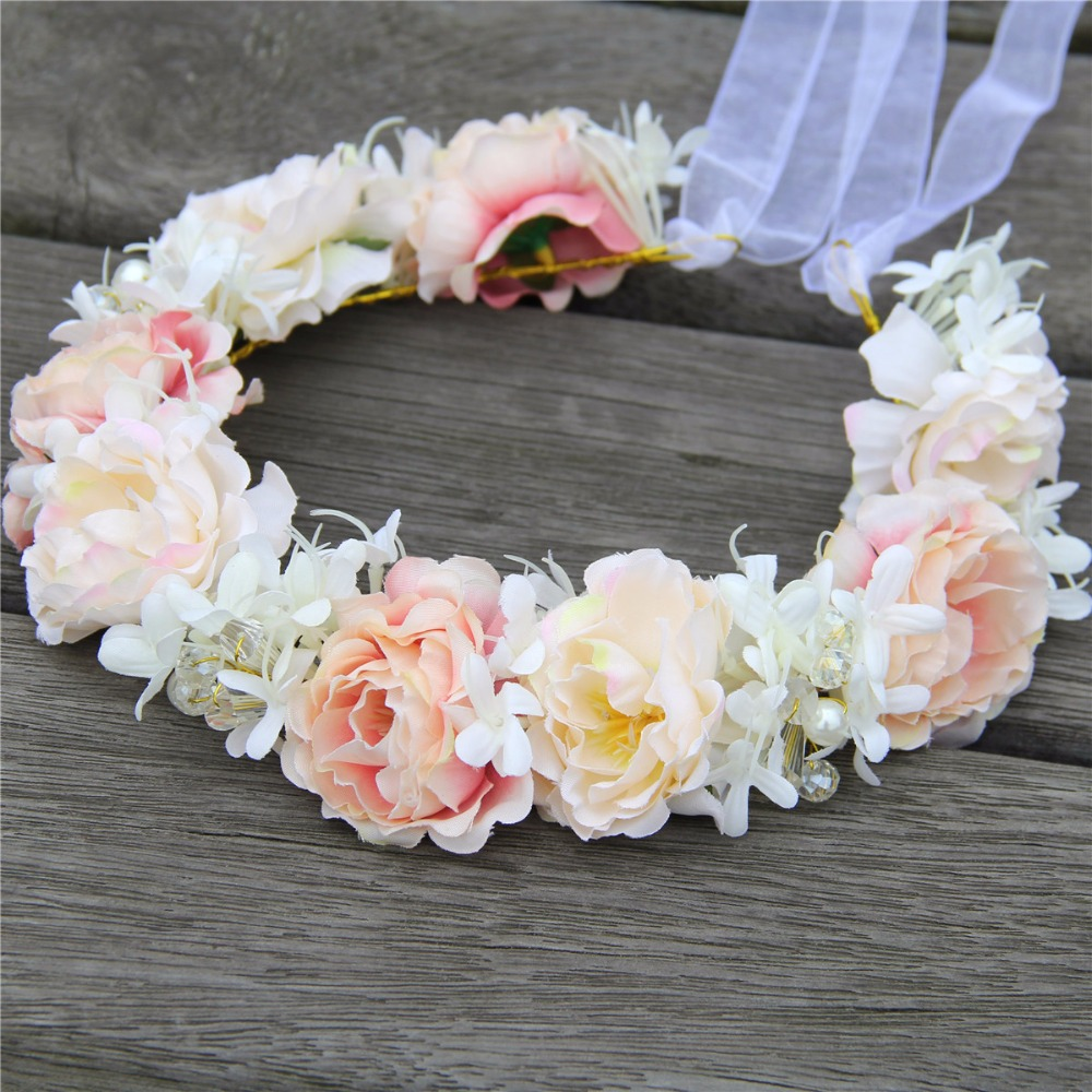 High-Quality-Handmade-Bridal-Crystal-Hair-Flower-Crown-Wedding-Headwear-Woman-Girls-Party-Prom-Flower-Garland